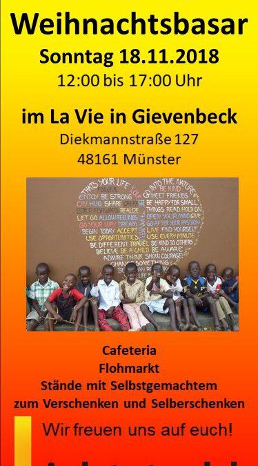 Wir laden euch ein … 18.11.2018 von 12:00 – 17:00 Uhr ins LaVie nach Gievenbeck