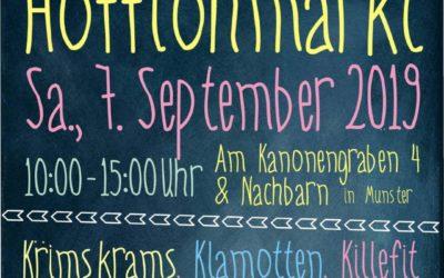 7. September, Hofflohmarkt am Kanonengraben 4