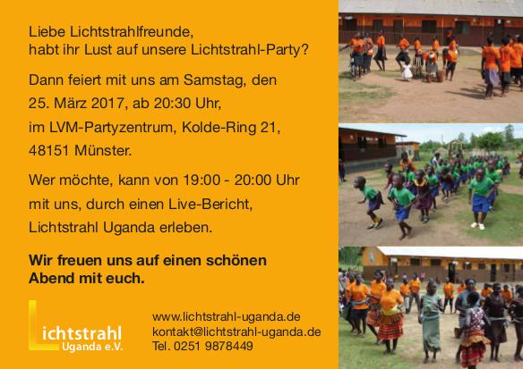 Lichtstrahl-Sponsorenparty 2017